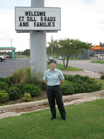 Baymont Inn & Suites Lawton: The Baymont is very welcoming to military families.