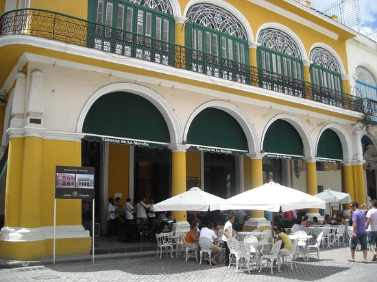 Photo of Caribbean Restaurant Plaza Vieja at Havana, Cuba