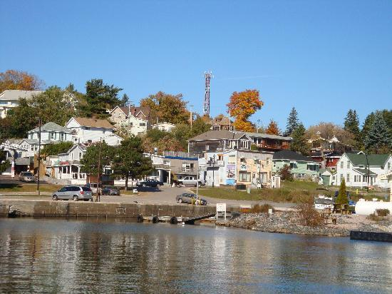 40 Bay Street Bed & Breakfast: Parry Sound from the lake.