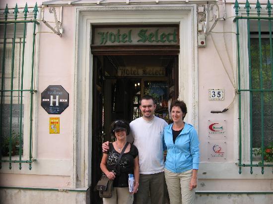 Hotel Select : photos de notre départ