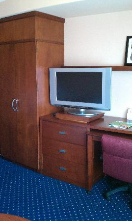 Courtyard by Marriott Pensacola Downtown: T.V.