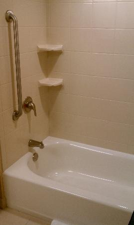 Courtyard by Marriott Pensacola Downtown: Bathroom Tub