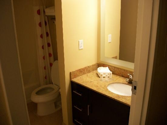 TownePlace Suites Bethlehem Easton: Bathroom