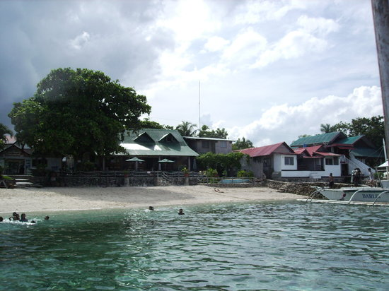 Sumisid Lodge : View from the sea