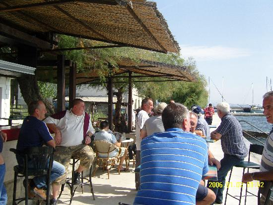 Hotel Kastel: The 1 and only local sea front bar