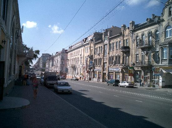 Vladivostok, Russia: 街並みで―す。道行く女性はきれいでした。