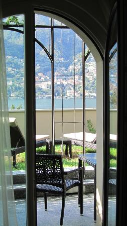 Blevio, Italy: View across the room