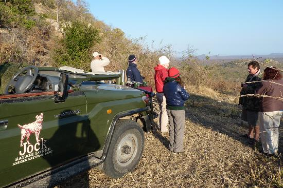 Jock Safari Lodge: Great spot for coffee after a game drive