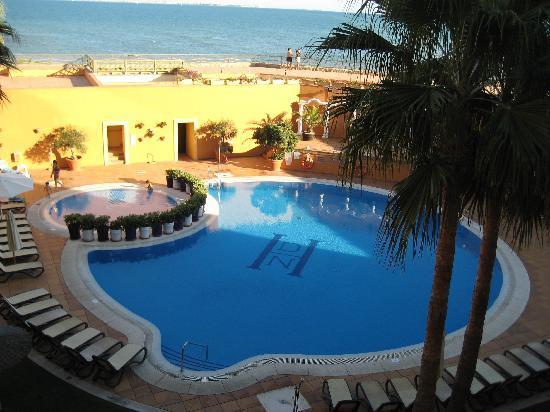 Hotel Duque de Najera: Hotelpool