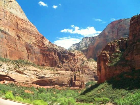 Zion Shuttle: Beautiful view