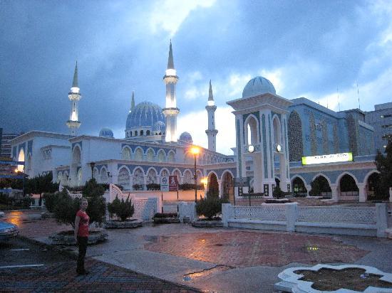 Kuantan, Malaysia: eine der größten Moscheen des Landes