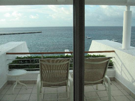 Casa Mexicana Cozumel: The view from our balcony