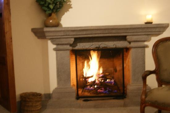 Inkaterra La Casona Relais & Chateaux: chimney