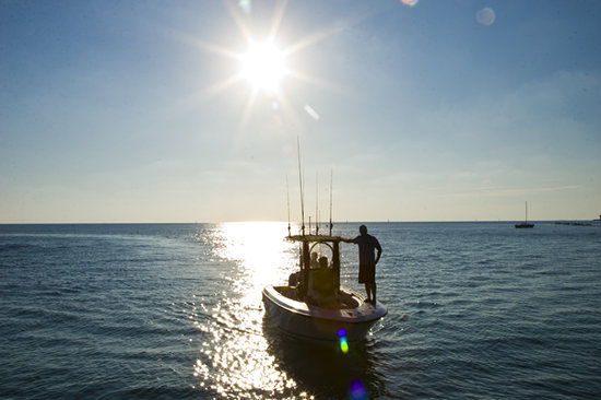 Seize the Day Fishing Charters: Sunset
