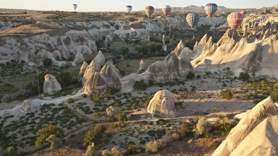 Goreme, Turquía: Getting a close view