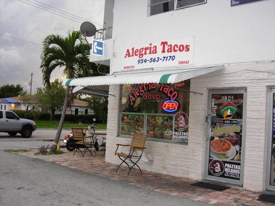 Alegria Tacos : A hidden gem..