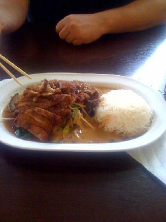 Chi Chi Thai: Gericht mit Rindfleisch