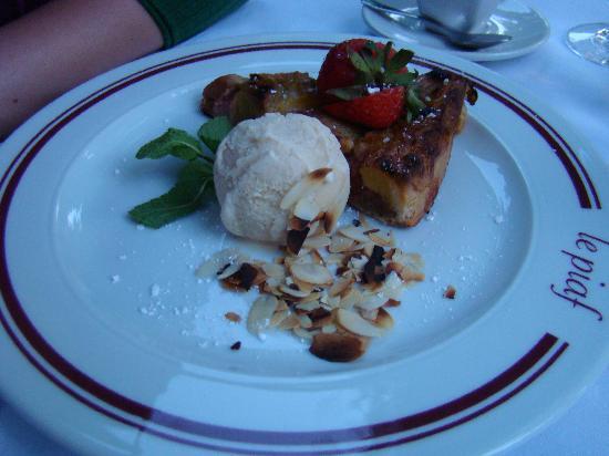 Gourmanderie: Tarte et Glace