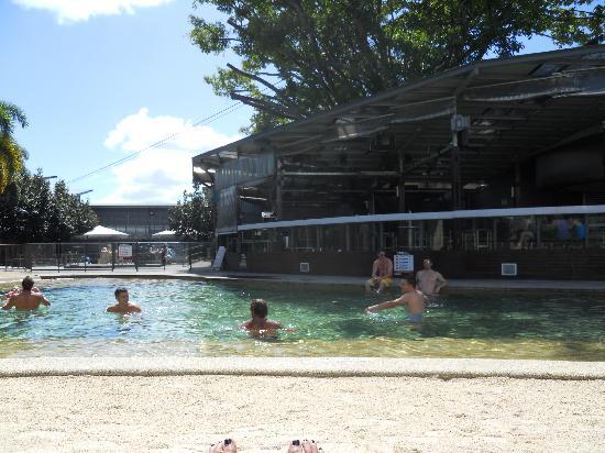 Gilligans Backpackers Hotel & Resort : Great pool