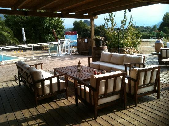 Patrimonio, Frankreich: cote Bar. Wifi gratuit