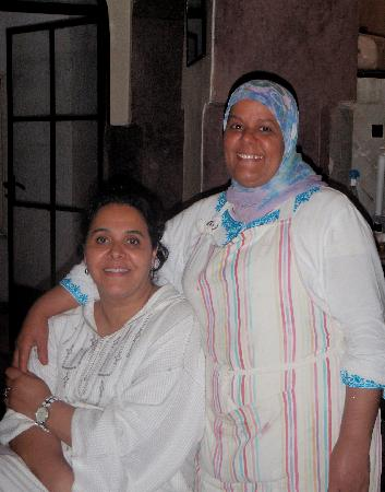 Riad Laaroussa Hotel and Spa: Chefs at Riad Laaroussa