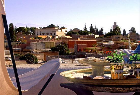 Dar Warda: roof terrace