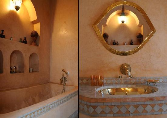 Dar Warda : Dune bathroom