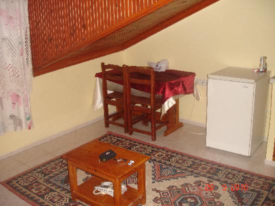 Villa Ozalp: Lounge/Kitchen