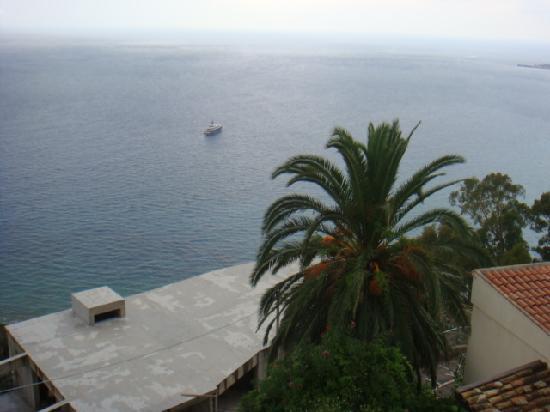 Meridiana Hotel Taormina: Seaview of the terrace of my room