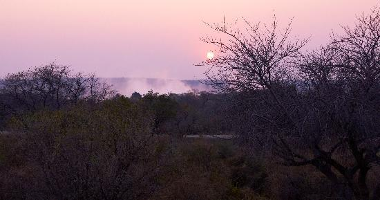 Ilala Lodge: The view from my room at sunrise