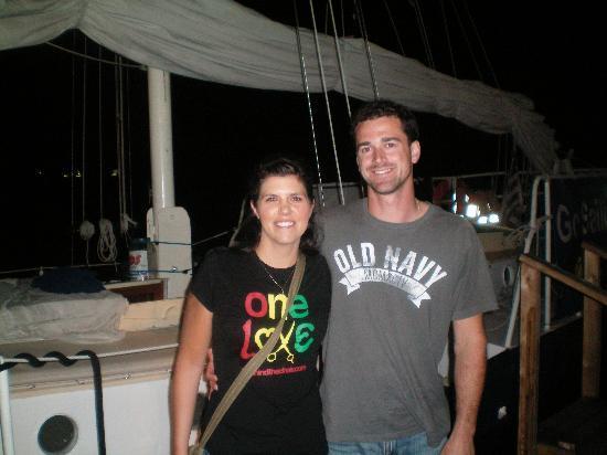 American Sailing Tours: sunset sail