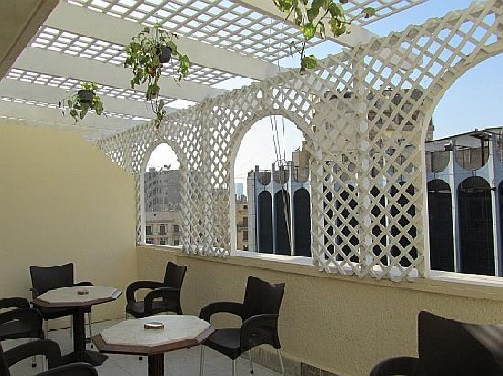 Cairo Moon Hotel: Balcony