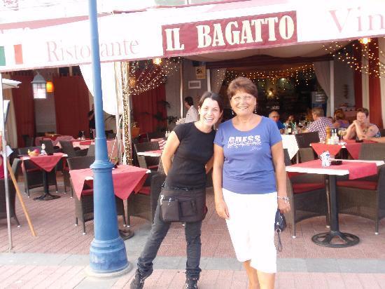 Il Bagatto: Silvia in un momento di realx dal servizio con il mio tesoro liliana