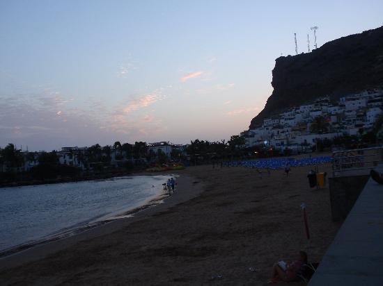Il Bagatto: Il tramonto sulla spiaggia di Mogan