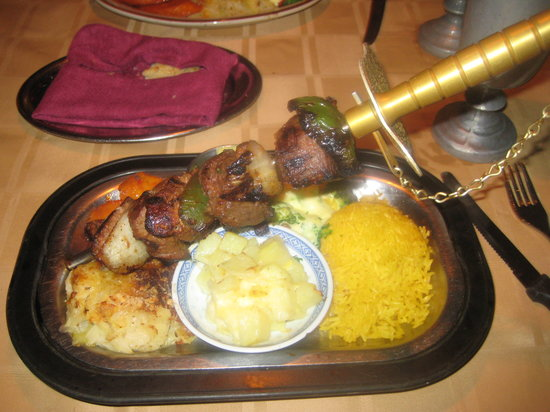 Buccaneer Restaurant: Awesome meal says the husband