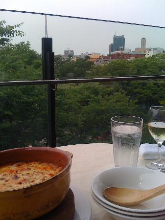 Peroraatoranchika: the chorizo-cheese-risotto, yummy and cheesy!