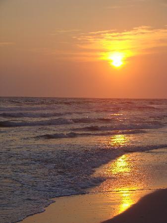 Mexico Beach, FL: Amazing sunset