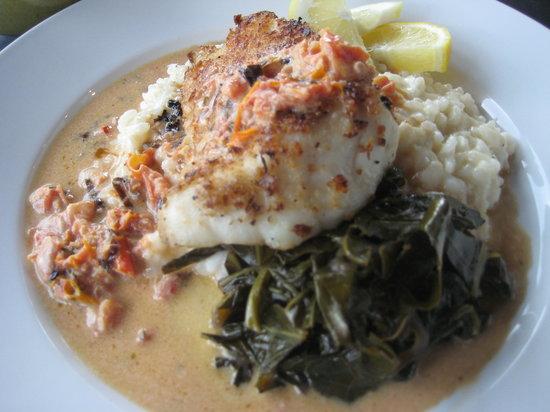 The Morning Glory Cafe: Panko Encrusted Lightly Fresh Carolina Grouper plus..