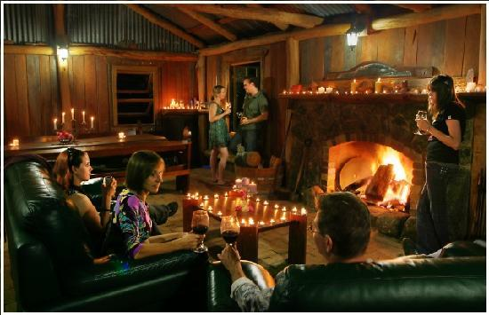 Diamondvale B&B Cottages: For those who want a fire all year round, try the Slab Hut by the creek