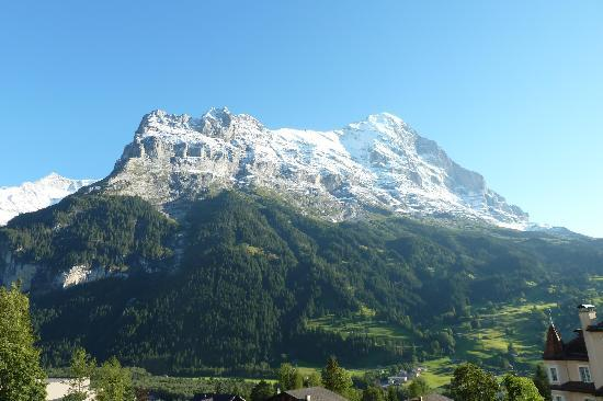 View of Eiger from the balcony