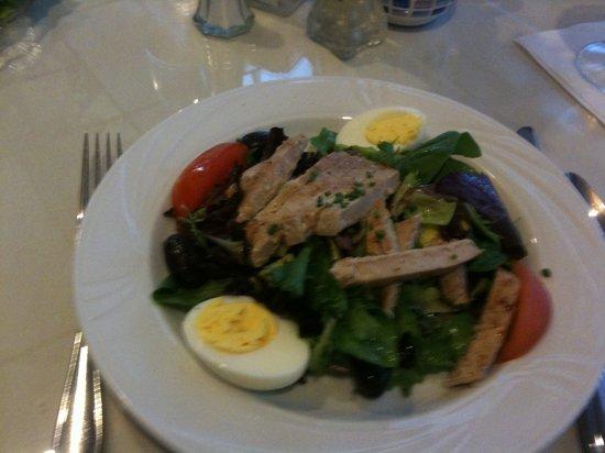 Croissant du Jour: ahi tuna