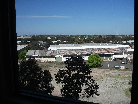 Ibis Budget Sydney Olympic Park Hotel: The view from our room (503)