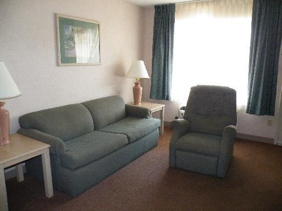 Super 8 Jasper TX : Sitting Area