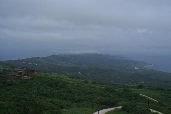 Mt.Tapochao: 島北部