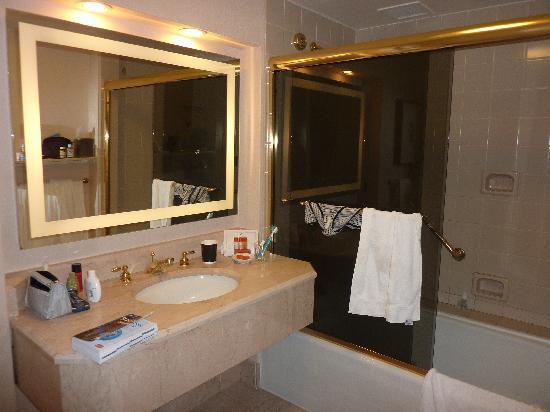 Washington Court Hotel: bagno