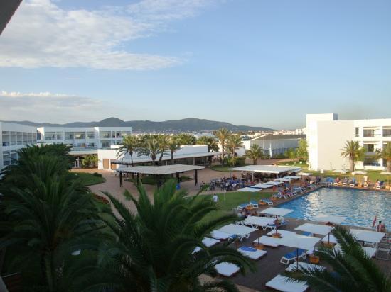 Grand Palladium Palace Ibiza Resort & Spa: Vista instalaciones desde habitacion