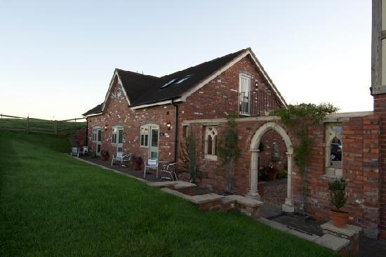 Haye Pastures Farm: Outside our self catering apartments