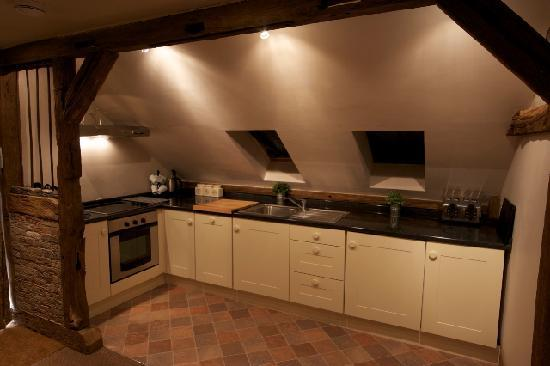 Haye Pastures Farm: The kitchen in one of our self catering apartments