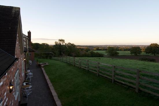 Mappleborough Green, UK: The view from your accomodation when you stay with us
