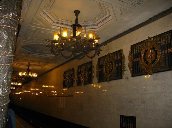 Sokos Hotel Olympia Garden: wunderschöne U-Bahn Stationen